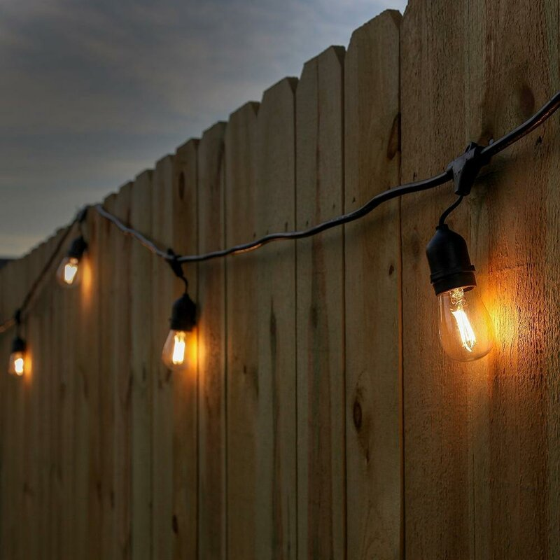 Newhouse lighting 15 light commercial grade outdoor weatherproof 15 light commercial grade outdoor weatherproof string lights aloadofball Choice Image
