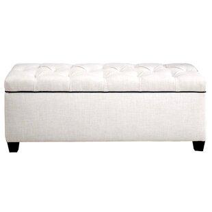 Hayworth Upholstered Storage Bench by Alcott Hill