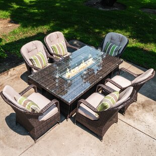 Firepit Patio Dining Sets You Ll Love