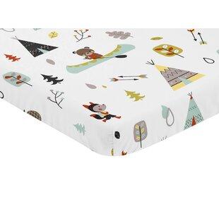 Price comparison Outdoor Adventure Fitted Mini Crib Sheet BySweet Jojo Designs