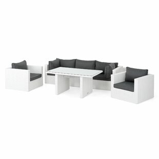 Hiren 5 Seater Rattan Effect Corner Sofa Set By Sol 72 Outdoor