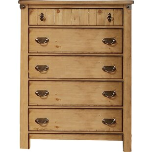 Hokku Designs Torrino 5 Drawer Chest