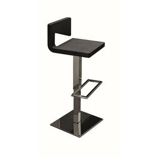 Charme Adjustable Height Swivel Bar Stool by YumanMod