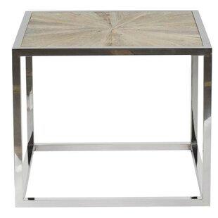 Ivan Metal Frame Coffee Table by Foundry Select