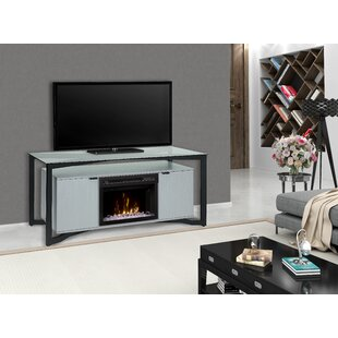 Christian TV Stand for TVs up to 70 with Fireplace by Dimplex