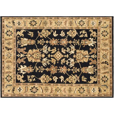 Dominico Hand Knotted Light Gold Area Rug Astoria Grand Rug Size Rectangle 12 X 15