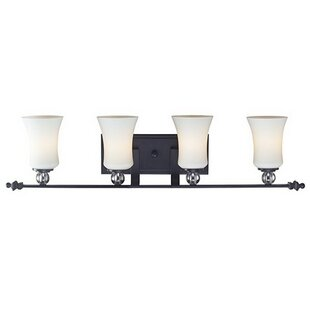 Top Reviews Verner 4-Light Vanity Light By Winston Porter