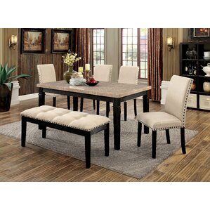 Hazel 6 Piece Dining Set by Red Barrel Studio