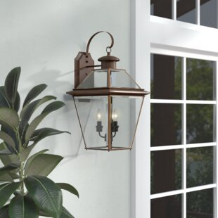 Darby Home Co Gunnora 3-Light Outdoor Wall Lantern