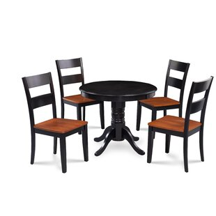 Hopson 5 Piece Solid Wood ..