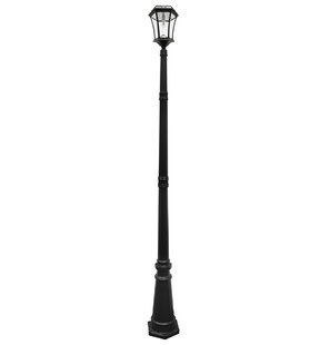 Victorian 1-Light LED 93 Post Light By Gama Sonic Outdoor Lighting