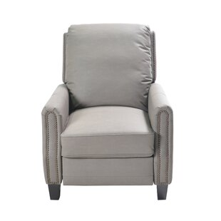 Check Prices Doucet Push Back Manual Recliner by Darby Home Co Reviews (2019) & Buyer's Guide