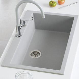 White Composite Sink | Wayfair.co.uk