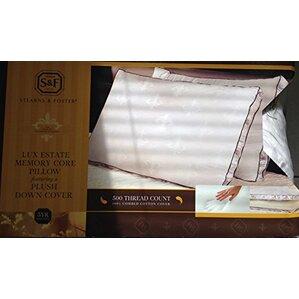 Lux Estate Memory Core Foam Pillow by Luxury Home
