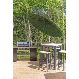 Hoyos 2.5m Traditional Parasol By Sol 72 Outdoor