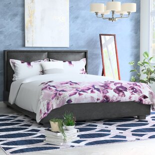 Dahlia Upholstered Platform Bed by Andover Mills