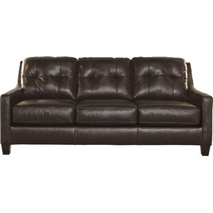 Affordable Stouffer Leather Sleeper Sofa by Red Barrel Studio Reviews (2019) & Buyer's Guide