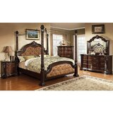 Wyatt Queen Upholstered Canopy 5 Piece Bedroom Set (Set of 5) by Astoria Grand