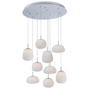Brumley 9-Light Pendant by Orren Ellis