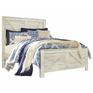 Price comparison Polegate Panel Bed by Three Posts Reviews (2019) & Buyer's Guide