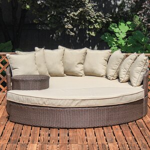 Superior Stinchcomb Outdoor Wicker Daybed With Cushions Amazing Design