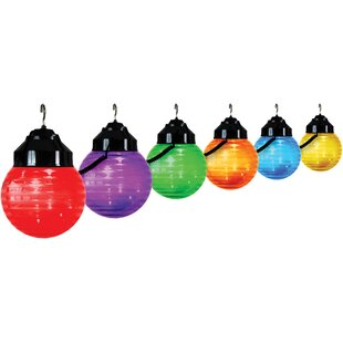 20 ft. 6-Light Globe String Light by Polymer Products