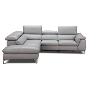 Leather Sectional Sofas Youu0027ll Love | Wayfair Part 88
