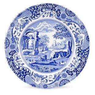Blue Italian 10.5  Dinner Plate (Set of 4)  sc 1 st  Wayfair & Japanese Plates | Wayfair