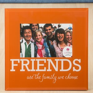 Glass Friends Picture Frame
