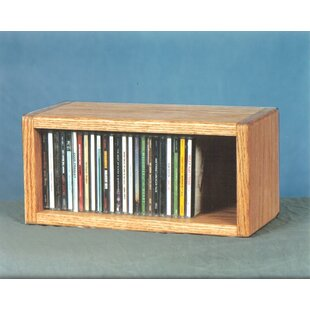Wood Shed 100 Series 32 CD Multimedia Tabletop Storage Rack