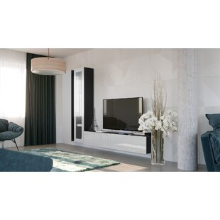 Read Reviews Izzie Entertainment Center for TVs up to 70 by Orren Ellis Reviews (2019) & Buyer's Guide