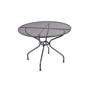 Sattler Steel Bistro Table By Sol 72 Outdoor