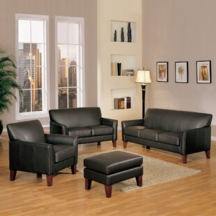 Clintonville 4 Piece Living Room Set by Three Posts