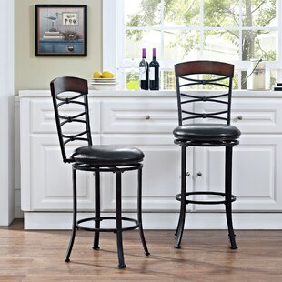 Best Price Jeremiah 42.28 Swivel Counter Bar Stool by Red Barrel Studio Reviews (2019) & Buyer's Guide