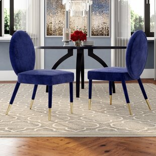Pine Upholstered Dining Chair (Set of 2) Mercer41