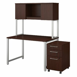 Bush Business Furniture 400 Series 3 Piece Desk Office Suite