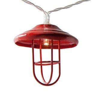Highland Dunes Lantern LED 10 Light String Lighting