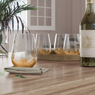 Chenery 20 oz. Stemless Wine Glass (Set of 4)
