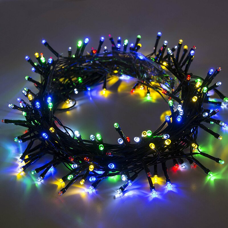 Solar Powered Christmas Lights.Solar Powered Christmas Holiday 200 Led Light String Light