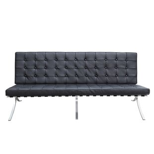 Savings Pavilion Leather Sofa by Fine Mod Imports Reviews (2019) & Buyer's Guide