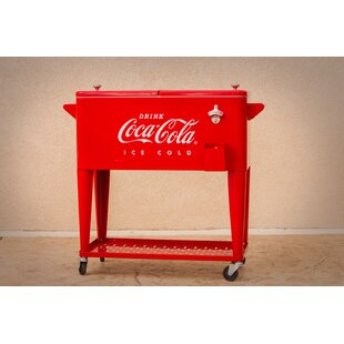 80 Qt. Coca-Cola Embossed Cooler
