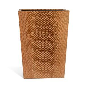 Rembrandt Home Genuine Leather Waste Basket