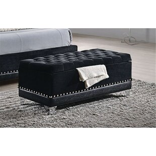 McManus Upholstered Storage Bench by Rosdorf Park