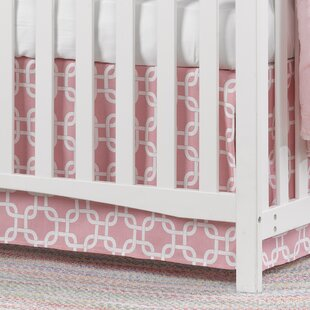 Metro Crib Skirt ByLiz and Roo Fine Baby Bedding