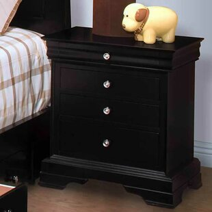Darby Home Co Wiedemann 3 Drawer Nightstand