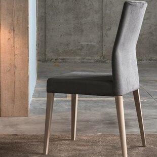 Soho Genuine Leather Upholstered Dining C..