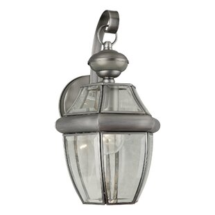 Forte Lighting One Light Outdoor Wall Lantern