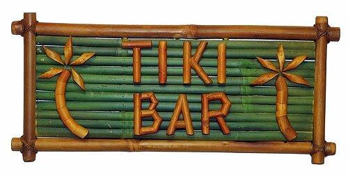 Porter Tiki Bar Sign