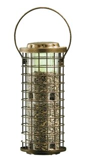 Woodstream Wildbird Squirrel Stumper Caged Tube Bird Feeder