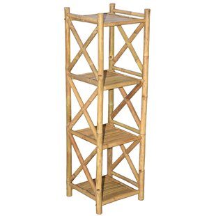 Review Bali Etagere Bookcase by Bamboo54